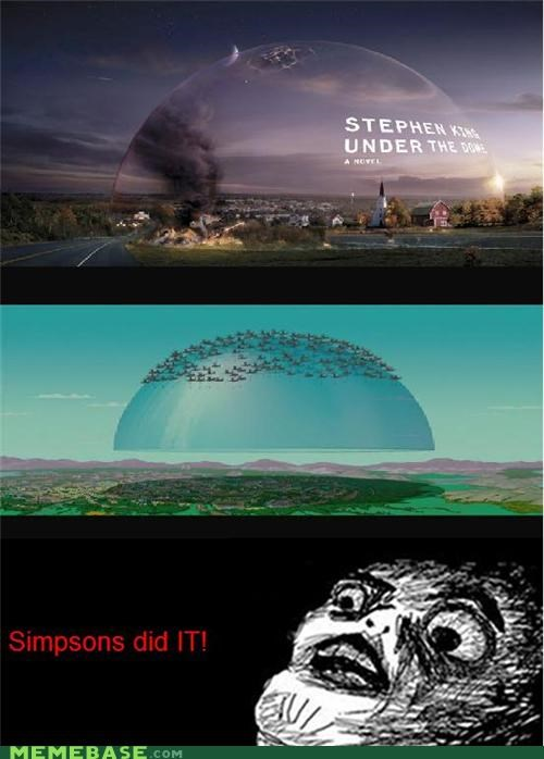 Movie,raisins-super-fuuuu,simpsons,stephen king,under the dome