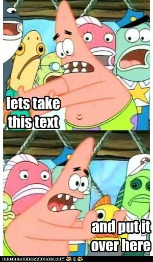 location,push,pushing patrick,text