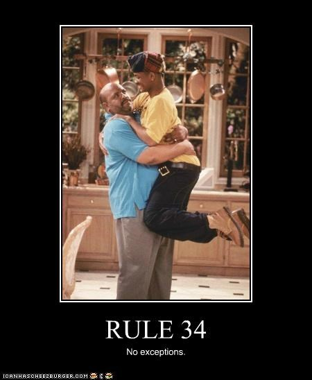 Fresh prince of Rule 34 meme