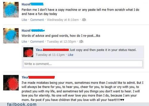 copy and paste facepalm old people technology - 5158833408