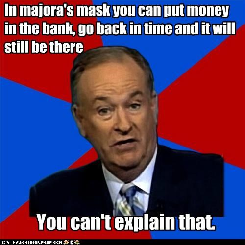 bank,bill-oreilly,explain,magic,majoras mask,money,time,video games,zelda