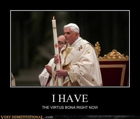 pope no no tubes weirdest