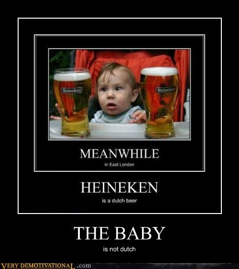 THE BABY is not dutch