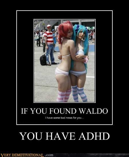 adhd hilarious Sexy Ladies wheres waldo - 5159427328