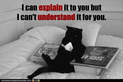 but can cant caption captioned cat caveat explain human reading stupid understand