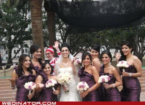 bridesmaids found him wheres waldo waldo - 5159610368
