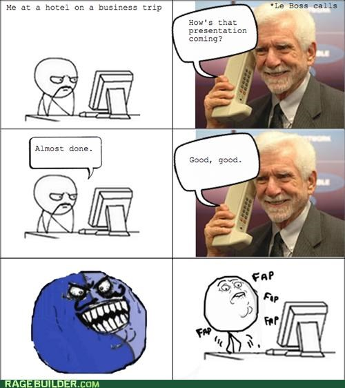 business trip faptimes i lied Rage Comics - 5159613184