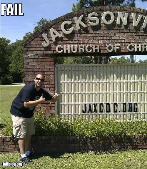 church signs failboat innuendo oh florida religion url - 5159686912