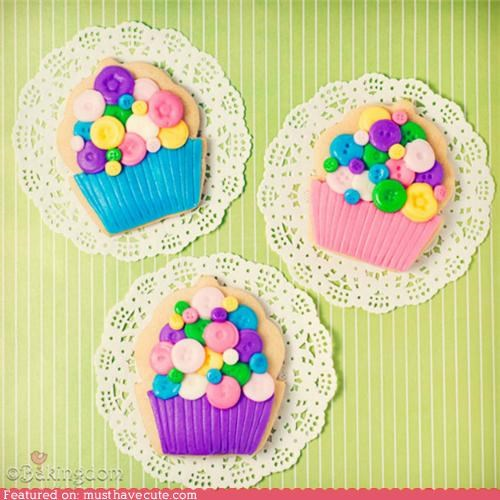 buttons cookies cupcakes doilies epicute - 5159726592