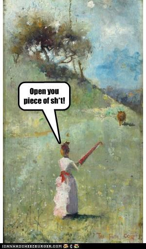 frustrated historic lols ladies open paintings pastoral pos umbrellas - 5159764992