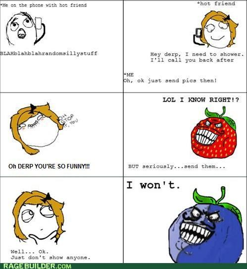 i lied,Rage Comics,re-raged,strawberry guy