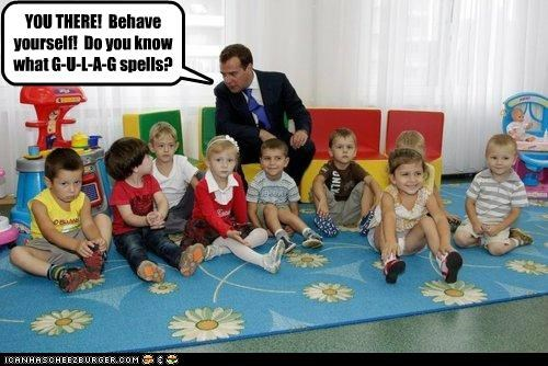 children Dmitry Medvedev labor day political pictures - 5160149760