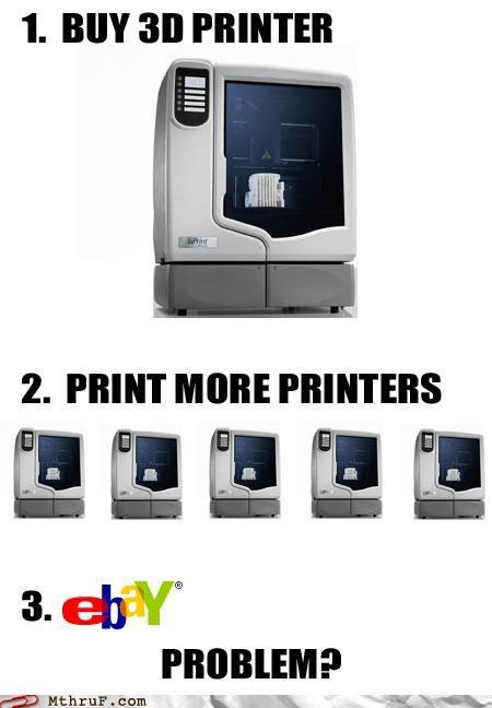ebay printer printers profit troll - 5160220672