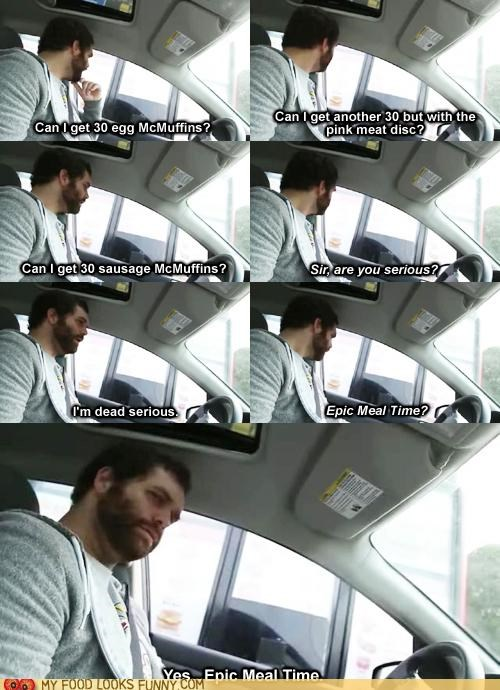 captions,car,conversation,epic meal time,fast food