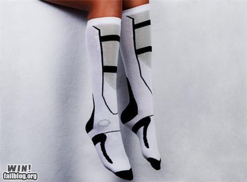 boots clothing fashion nerdgasm Portal socks video game