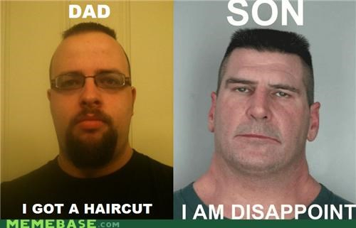 disappoint,Memes,mike,mohawk,son