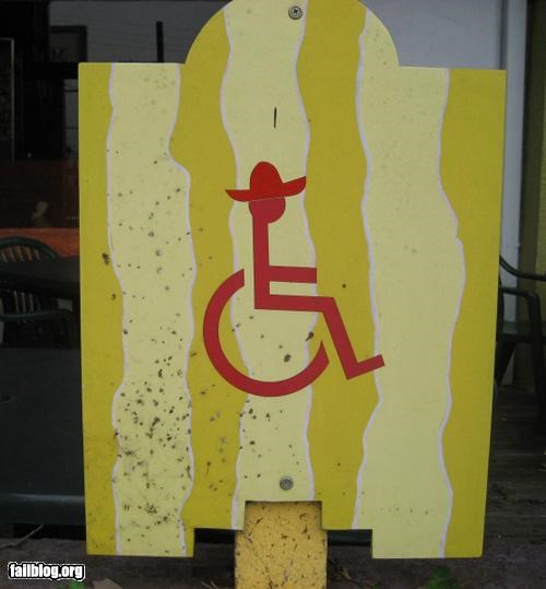 failboat,g rated,handicap,oddly specific,signs