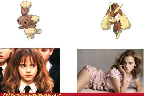 best of week,buneary,celeb,emma watson,Evolve,Harry Potter,IRL evolution,lopunny