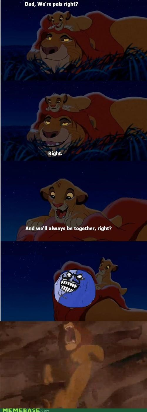 disney,i lied,king,lion king,mufasa