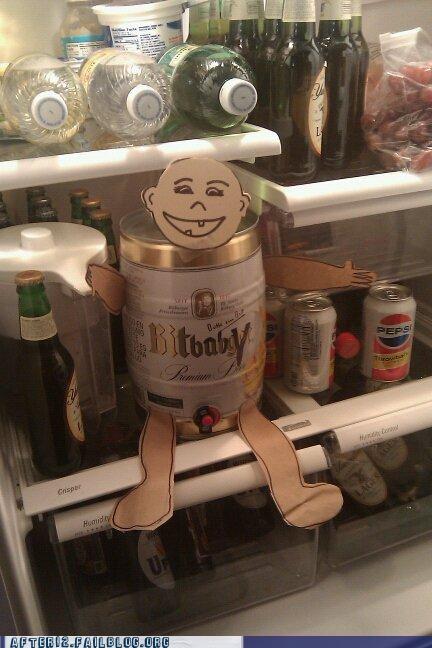 aww baby shower beer fridge keg - 5161138688