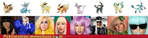 best of week eeveelution Evolve IRL evolution lady gaga - 5161435904