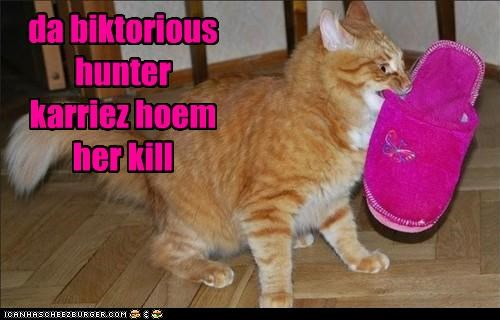 da biktorious hunter karriez hoem her kill