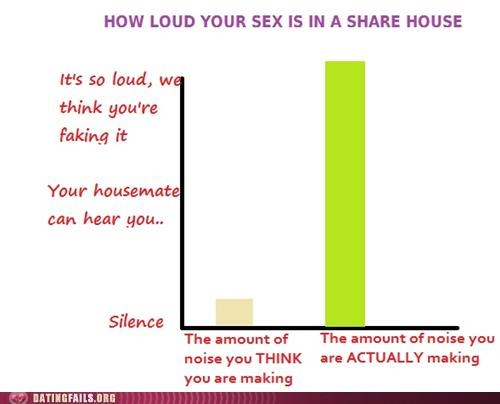 graph,loud,noise,overheard,sex,share house,We Are Dating