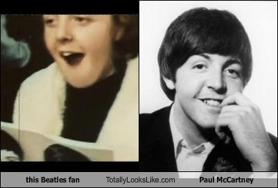 fan Music musicians paul mccartney random person the Beatles