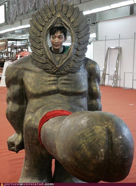 creepy,Japan,statue,wtf