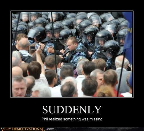 cops helmet hilarious riot - 5162833408