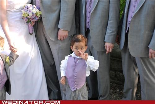 children,funny wedding photos,wedding party