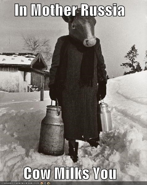cows historic lols in soviet russia milk russia wtf - 5163525888