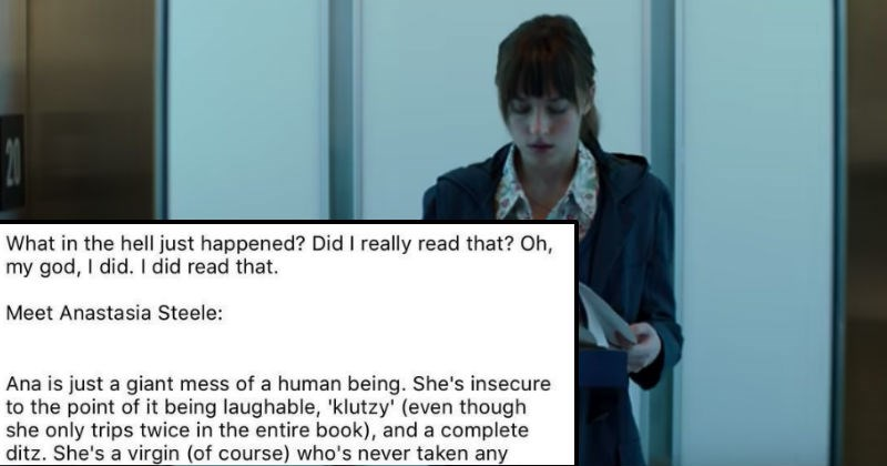 negative review of the fifty shades of grey book