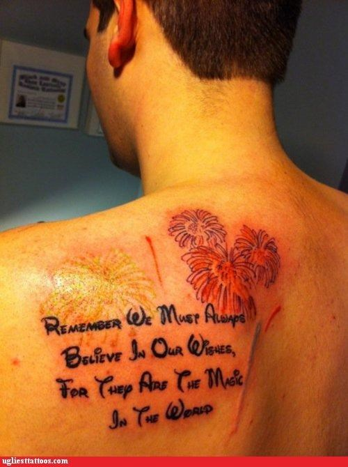 disney disney font inspiration quote tattoos