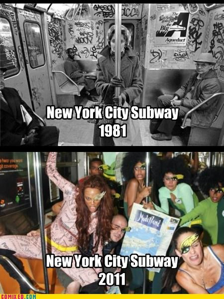 20 years,history,new york ciry,Subway,things change