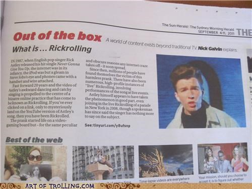 article,IRL,news,rickroll