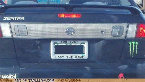 car IRL license plate the game - 5164476672