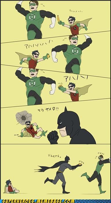 Awesome Art batman fun Green lantern robin - 5164841984