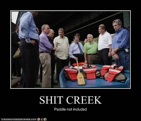 SHIT CREEK Paddle not included
