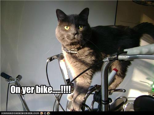 On yer bike.....!!!!