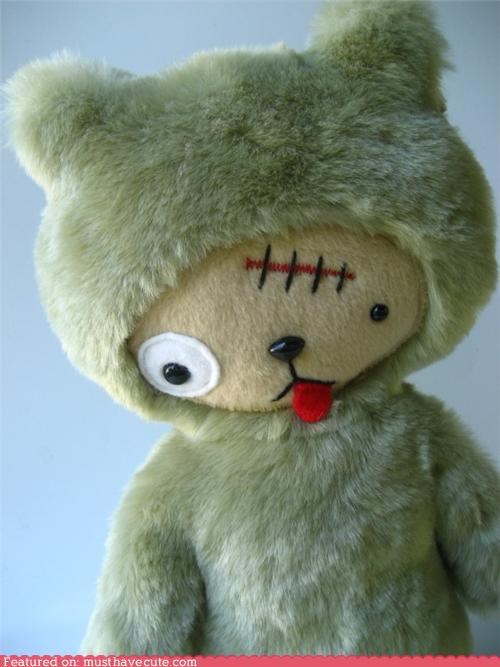bear stuffed suit teddy bear zombie - 5166153728