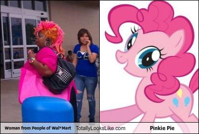 Woman from People of Wal*Mart Totally Looks Like Pinkie Pie