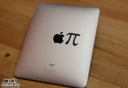apple applegeeks food gadget ipad mac nerdgasm nerdy pi pun