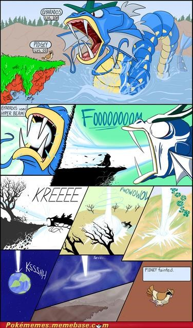 best of week comic gyarados hyper beam overkill pidgey - 5167169024