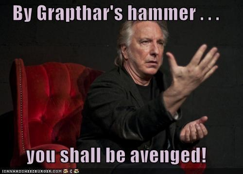 actor Alan Rickman celeb funny Hall of Fame sci fi - 5167395072