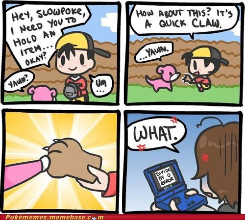 comic divide by zero gameplay quickclaw slowbro yawn - 5167505408