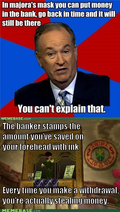 bank,bill-oreilly,ink,majoras mask,money,stamp,time,video games,zelda