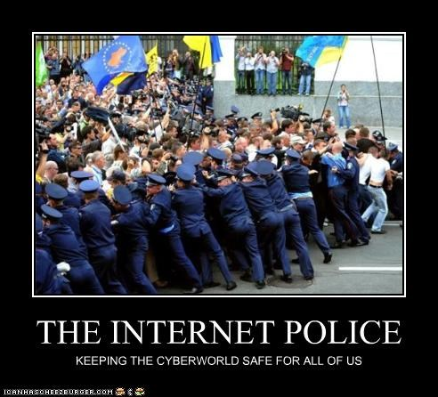 THE INTERNET POLICE KEEPING THE CYBERWORLD SAFE FOR ALL OF US