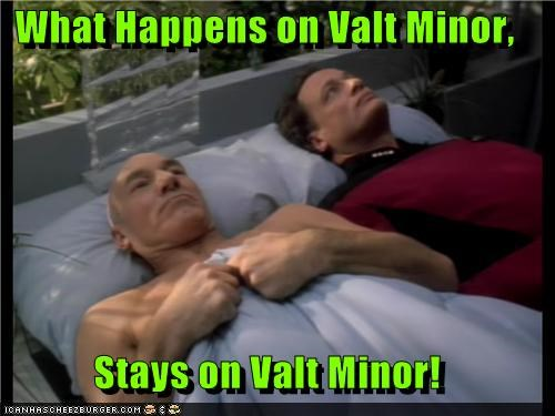 What Happens on Valt Minor, Stays on Valt Minor!