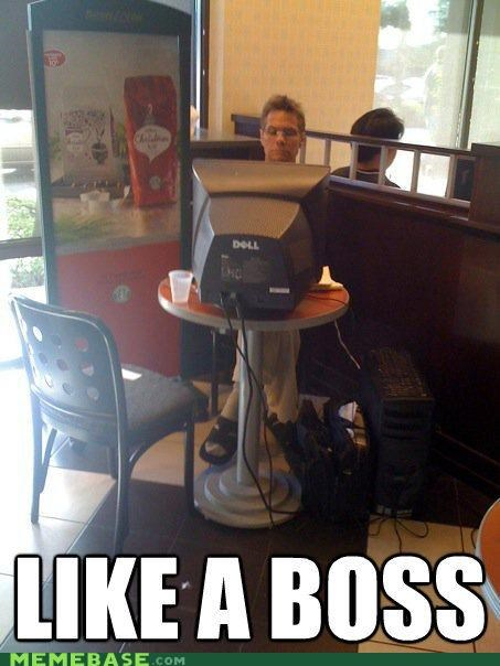 coffee computer Dell laptop Like a Boss - 5168842752